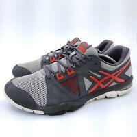 Asics Gel-Craze TR3 Athletic Running Shoe Mens Size 11.5 S603Y Black Gray Red