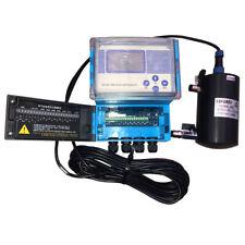 110v Flow Through Online Turbidity Meter Tester Detector Lab Equipment 5000nt