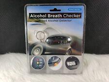Protocol 2419-7A Alcohol Breath Checker, Keychain with Led Flashlight