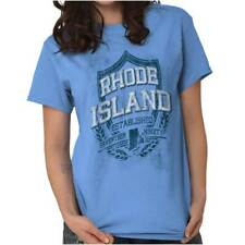 Rhode Island State Motto Souvenir Tourist Ladies TShirts Tees T For Women