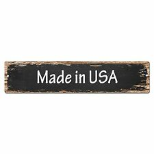 SP0099 Made in USA Street Sign Bar Store Shop Cafe Home Kitchen Chic Decor