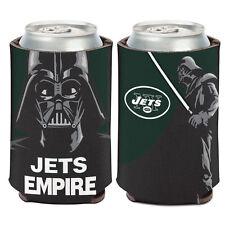 New York Jets Darth Vader Can Cooler 12 oz. Star Wars Koozie