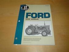 Trattore FORD 8000 8600 8700 9000 9600 9700 motore proprietario Officina Manuale Manuale