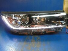 17 18 19 Toyota Highlander DRL halogen headlight OEM Right  II954 81110-0E560
