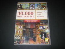 DVD ROM: 40.000 Meisterwerke, Malerei Grafik Zeichnung