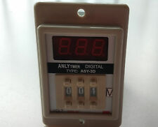New AC 220V Power ON Delay Timer Time Relay 1-999 Minute