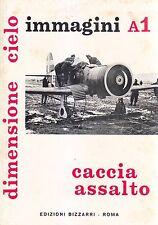 Caccia assalto IMMAGINI A1  dimensione cielo - edizioni Bizzarri 1972