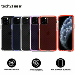 """tech21 Evo Check FlexShock™ Protective Slim Case Cover For iPhone 11 (6.1"""") New"""