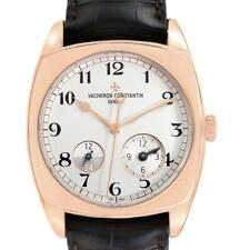 Vacheron Constantin Harmony Dual Time Rose Gold Mens Watch 7810S
