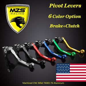 MZS Pivot Clutch Brake Levers for Yamaha YZ80/YZ85 YZ125/YZ250 YZ250F YZ426F CNC