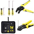 4 In 1 Engineering Ratchet Crimping Plierscrewdriver4 Interchangeable Terminal
