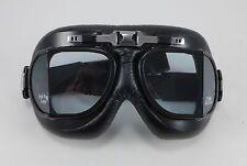 Emgo Roadhawk Goggles Motorcycle Harley Davidson Cruiser Chopper Custom Helmet