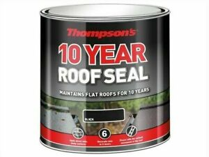 Ronseal Thompsons 4L Roof Seal - Black (30146)