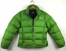 The North Face Mens Medium 700 Goose Down Green Puffer Jacket