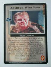 1999 Babylon 5 Ccg - Severed Dreams - Rare Card - Zathras Who Was