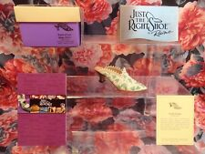 """Just The Right Shoe Raine Originals - """"Touch Of Lace"""" 1999 New"""