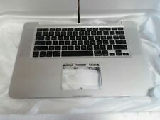 """2008 Apple MacBook Pro A1286 Unibody 15"""" Top Case Keyboard without Trackpad"""