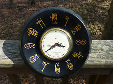 GE Telechron Wall Clock Mid Century Funky Bottlecap Atomic Vintage franck muller
