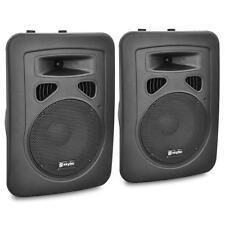 PAAR DJ PA AKTIV BOXEN 2 LAUTSPRECHER ANLAGE SET 400W