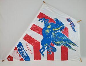 Vintage Hi Flier Kite Pegasus flying Horse plastic kite wooden rods New sealed