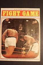 Cassius Clay MUHAMMAD ALI vs Sonny Liston FIGHT GAME Summer 1964 Magazine GD
