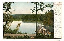 Vintage Postcard SOMMERSET RAILROAD Joe's Hole NY Somerset 1906