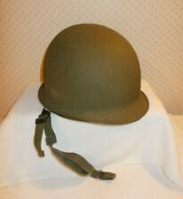 Vintage U.S.Army Wwii M-1 Helmet w/Replacement Liner Type I U.S.Gov'T Issue 86