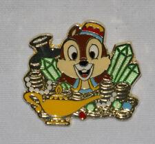 Disney Pin Chip Tokyo Disney Sea TDS Prize Treasure Green Gems