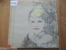 PEGGY LEE - MINK JAZZ LP / ALBUM / VINYL - WORLD RECORD CLUB - ST 745