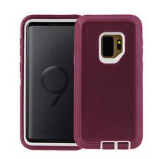 For Samsung Galaxy S9 / S9 Plus Defender Case Rugged Shockproof w/ Belt Holster
