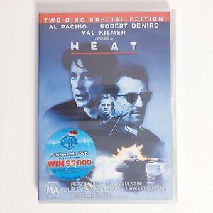 Heat Special Edition Movie DVD Region 4 AUS - Thriller Action Factory Sealed