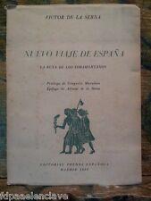 NUEVO VIAJE DE ESPAÑA Libro viejo MADRID 1959 siglo XX Historico Antiguo Clasico