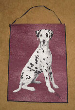 Dalmation Tapestry Bannerette Wall Hanging ~ Linda Picken