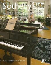 Sotheby's Collection De Ceramiques Francaises Verreries Et Documentions 2005