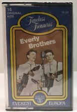 Everly Brothers 16 Hits Timeless Treasures Cassette Tape Sealed  16-24