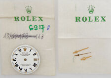 Rolex original white dial for lady Date 26mm 6917 new old stock w/hands   213
