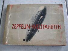 Zeppelin Weltfahrten 1934 Sammelbilderalbum Greiling Album fast komplett