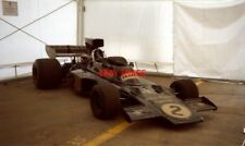 PHOTO  F1 JPS LOTUS 72D OR E I FOUND LANGUISHING IN A MARQUEE AND GETTING NO ATT