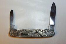Vintage Pocket Knife - Deer Hunter - Hoffritz Solingen Germany - Stainless