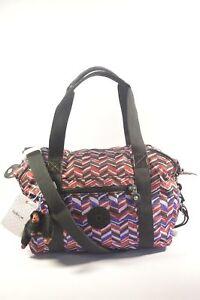Kipling HB6981 6DS Art U Print Dashing Stripe Convertible Tote Bag