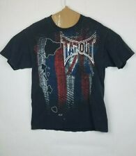 Tapout Patriotic Graphic Tee Short Sleeve Men's T-Shirt Size Large