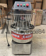 NEW 20L Double Action Double Speed Spiral Dough Mixer Commercial Household 220V