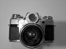 Zeiss Ikon Contarex  Spiegelreflexkamera mit ZEISS Planar  50mm 1:2 mit Tasche