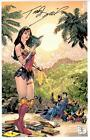 TONY DANIEL - WONDER WOMAN JUSTICE LEAGUE ART PRINT C2E2 EXCLUSIVE SIGNED 11x17