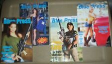 Lot of 4 Blue Press (Sept/2017, Jan/2018, Sept/2018, May/2019) Back Issues