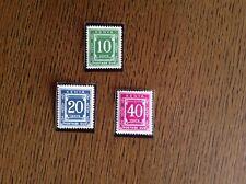 Kenya Postage Dues 1983 Complete Set SG D41-3 Unmounted Mint