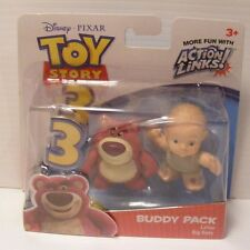 Toy Story 3 Buddy Pack action figures Set bear LOTSO & BIG BABY mattel 2009