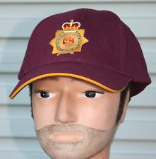 RAAMC EMBROIDRED BALL CAP  - ROYAL AUSTRALIAN ARMY MEDICAL CORPS