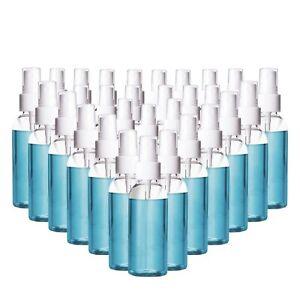 30 Pack 1oz Fine Mist Clear Spray Bottles,30ml Refillable Small Empty Plastic...