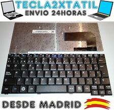 TECLADO PARA PORTATIL SAMSUNG NC10-anyNet N270 B EN ESPAÑOL NEGRO NUEVO